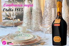 Despide las #navidades brindando con este delicioso #lambrusco italiano.