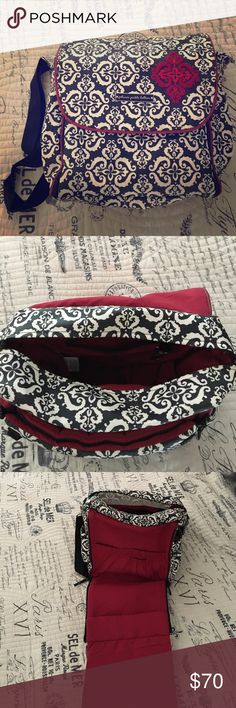 Petunia pickle bottom boxy backpack Super sturdy diaper bag! Has pockets on the inside and sides. Front panel unzips to be a long changing pad. Outside can be easily wiped off and cleaned. Can be carried on the shoulder or as a backpack. Petunia Pickle Bottom Bags Baby Bags