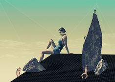 Platform - Julien Pacaud • Illustration • Perpendicular Dreams