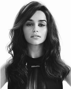 Confident and shabby pictures. I love Emilia Clarke - Khaleesi.