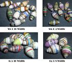 ⌂★ Bicone Upcycled #Paper Beads in #Wholesale Lots of 100 to #500 -- Upcycled http://ebay.to/2uqD69V