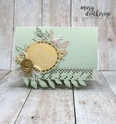 Stampin' Up! Wonderful Floral Romance (Stamps – n - Lingers) Romance, Stamping Up Cards, Sympathy Cards, Flower Cards, Anniversary Cards, Greeting Cards Handmade, Scrapbook Cards, Homemade Cards, Making Ideas