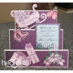 Heartfelt Creations - Peace And Happiness Step Card Project