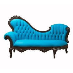 I like the modern bold blue fabric on the antique furniture. not sure im 100% in love with this piece but the concept i like. 189820-610x610-1343955239-primary.png 610×610 pixels