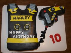 laser tag cakes pictures | Laser Tag Fun! — Children's Birthday Cakes