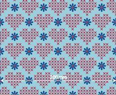Stretch-Jersey X-Daizy Love 95 % Bio-Baumwolle, 5 % Elasthan Bio-Stoff mit GOTS-Zertifikat Breite: 150 cm Design: Sabine Kortmann für Lillestof...
