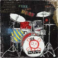 45 best drum images drum kit drum kits drums. Black Bedroom Furniture Sets. Home Design Ideas
