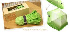 蔬菜傘(整個看起來很青翠美味啊~XD)