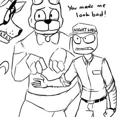 Mike The Security Guard Is Very Mad At You Foxy Part 2