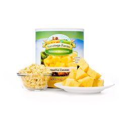 Saratoga Farms Freeze Dried Pineapples Food Storage - Saratoga Farms™