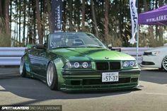 BMW E36 3 series cabrio widebody slammed