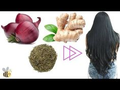 Remedio Milagroso Crece Tu Cabello y DETÈN la Caída en 7 Días 3 Ingredientes |fashionbycarol - YouTube