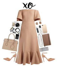A fashion look from February 2017 featuring ruffle dress, christian louboutin shoes and purse tote. Browse and shop related looks. Shinola, Christian Louboutin Shoes, Ruffle Dress, Nars Cosmetics, Prada, Valentino, Fashion Looks, Polyvore, Stuff To Buy