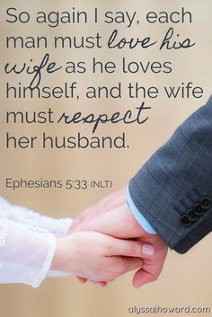 An important Bible verse about marriage.