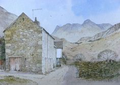 Fell Foot Farm Little Langdale by Malcolm Coils