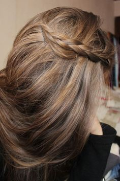 the easy alternative to braided bangs