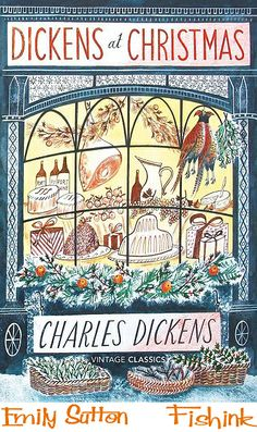 It has been said that Charles Dickens invented Christmas. It seems then only fitting that this quintessentially Christmas design be bestowed to a Dickens novel. A truly classic Christmas design from each object, to every colour used. Noel Christmas, Christmas Books, A Christmas Story, Vintage Christmas, Christmas Hamper, Christmas Cover, Christmas Carol Book, Christmas Houses, Christmas Design