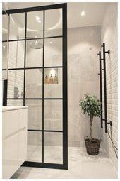 Duschwand Industriedesign Design industrial da parede do chuveiro – – Bright Bathroom, Shower Wall, Interior, Modern Bathroom, Bathroom Renovations, Bathroom Decor Sets, Bathrooms Remodel, Bathroom Decor, Bathroom Inspiration