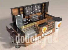 Home Decorating Trends 2018 Cafe Shop Design, Kiosk Design, Cafe Interior Design, Retail Store Design, Bakery Design, Restaurant Design, Coffee Bar Design, Coffee Shop Bar, Cafe Display