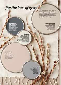 Love the paint colors you saw in the Better Homes and Gardens color story? Get the paint color names, plus tips and tricks for decorating with color. ideas master color schemes beige Better Homes & Gardens Paint Colors Decoration Inspiration, Color Inspiration, Decor Ideas, Decorating Ideas, Decorating Websites, Interior Decorating, Interior Ideas, Garden Painting, House Painting