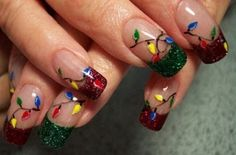 Best, Cute & Amazing Christmas Nail Art Designs