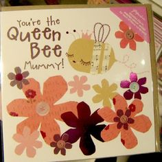 Queen Bee Mother's Day card from Paperchase via Print & Pattern blog