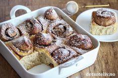 Hvit dame   Det søte liv Sweet Life, Cinnamon, French Toast, Muffin, Tasty, Baking, Dessert, Breakfast, Recipes