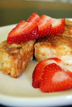 Life Tastes Good: Madison's Angel Food Cake French Toast