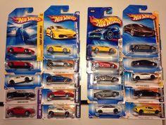 Hot Wheels Lot of 20 Ferrari & Lamborghini Cars  #HotWheels #FerrariLamborghini