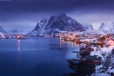 Lofoten (archipelago in Norway), by Daniel Kordan.
