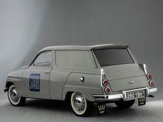 Inspiration Baden Baden Interior  Saab 95 Van 1962-1975