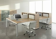Office Table Design, Office Space Design, Modern Office Design, Office Furniture Design, Office Setup, Workspace Design, Home Office Desks, Office Interior Design, Office Interiors