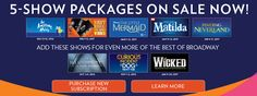 Broadway Tickets | Broadway Shows | Theater Tickets | Broadway in Orlando