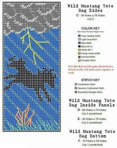 Wild Mustang Tote Bag 3/3
