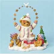 ... for Winter with Stars and Dove - Cherished Teddies Figurine, 4023737