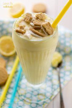 Lemon Pie Milkshake - have your pie and your ice cream too!
