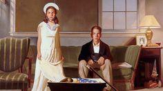 Bo Bartlett - The Box, 2002 Oil on Linen x 100 cm) Importance Of Art, American Realism, Bo Bartlett, Creative Class, Arts Integration, Math Art, Portraits, Arts Ed, Norman Rockwell