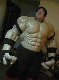 foam muscle suit tutorial - Google Search