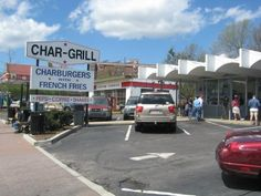 Char-Grill; Home of the best burgers in Raleigh.