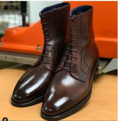 100%+Handmade Upper+made+with+Cow+Leather Lining+made+with+Cow+Leather Sole+made+with+Cow+Leather Heel+made+with+Cow+Leather Custom+Size+and+Design+Option+Available+ Ship+through+Express+shipping+option+ Handling+time+7-10+days.