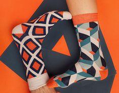 New Fashion Shoes Photography Inspiration Socks Ideas New Fashion, Trendy Fashion, Fashion Shoes, Cool Socks For Men, Fashion Photography Poses, Toe Socks, Black Socks, Textiles, Patterned Socks
