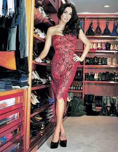 Tamara Ecclestone was in news for her enormous walk-in wardrobe in her Chelsea home boasting 14 shelves stacked with Christian Louboutin shoes along with 22 pairs of Ugg boots, pairs of Yves Saint Laurent shoes and at-least 50 pairs of pumps. Further, it's been reported that she has more than 100 pairs of Christian Louboutin heels, 20 pairs of trainers along with smattering of Jimmy Choos and Ginas.