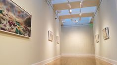 Cox and Schmidt Galleries at the William and Florence Schmidt Art Center. Belleville Illinois