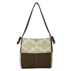 Brownie Gifts Sandstone Diaper Bag