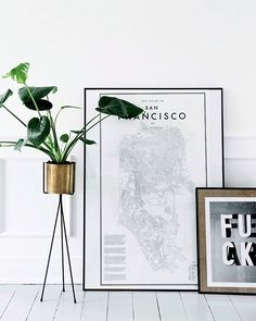 Happy Wednesday IG friends! Our Ferm Living plant pot and stand is great for…