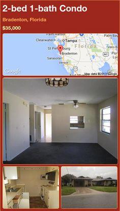 2-bed 1-bath Condo in Bradenton, Florida ►$35,000 #PropertyForSale #RealEstate #Florida http://florida-magic.com/properties/91570-condo-for-sale-in-bradenton-florida-with-2-bedroom-1-bathroom