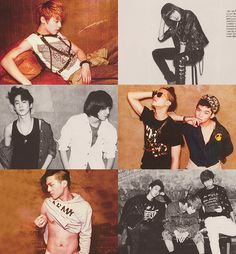 TEEN TOP ♡ C.A.P, Chunji, L.Joe, Niel, Ricky and Changjo