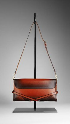 Burberry ~  Leather Clutch