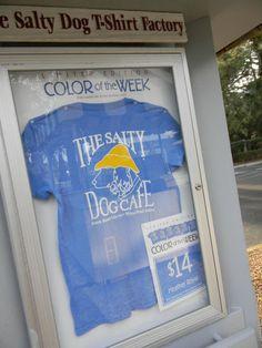 Salty Dog Tshirt on Hilton Head Island