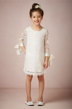 Lyla Dress from BHLDN - Absolutely adorable! The ribbons are so much fun!